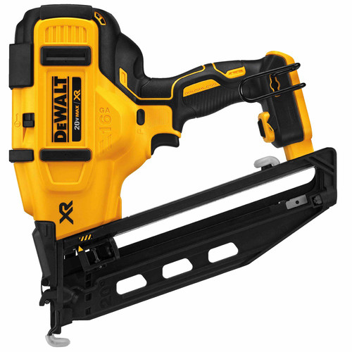 Factory Reconditioned Dewalt DCN660BR 20V MAX XR Lithium-Ion Brushless 20 Degree 16-Gauge 2-1/2 in. Angled Finish Nailer (Bare Tool)