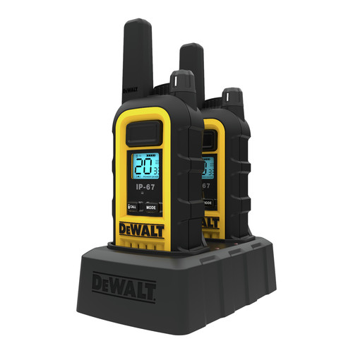 Dewalt DXFRS300 1 Watt Heavy Duty Walkie Talkies (Pair) image number 4