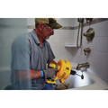 Dewalt DCD200D1 20V MAX XR 2.0 Ah Cordless Lithium-Ion Brushless Drain Snake Kit image number 7