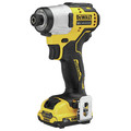 Dewalt DCF801F2 XTREME 12V MAX Brushless Lithium-Ion 1/4 in. Cordless Impact Driver Kit (2 Ah) image number 1