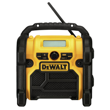 Factory Reconditioned Dewalt DCR018R 18V/20V MAX/12V MAX Compact Worksite Radio