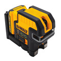 Dewalt DW0822LG 12V MAX Cordless Lithium-Ion 2-Spot Green Cross Line Laser image number 1
