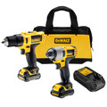 Factory Reconditioned Dewalt DCK211S2R 12V MAX 1.5 Ah Cordless Lithium-Ion 3/8 in. Drill Driver and Impact Driver Combo Kit image number 1