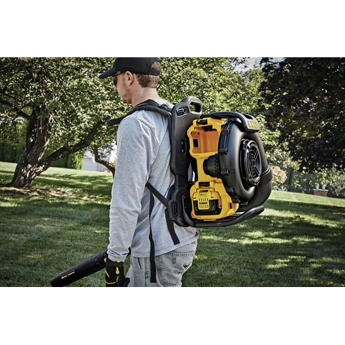 Dewalt DCBL590X2 40V MAX Cordless Lithium-Ion XR Brushless Backpack Blower Kit with 2 Batteries image number 10