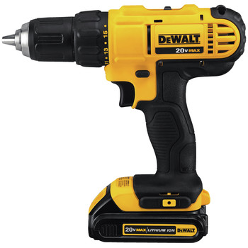 Factory Reconditioned Dewalt DCD771C2R 20V MAX Lithium-Ion Compact 1/2 in. Cordless Drill Driver Kit (1.3 Ah) image number 1