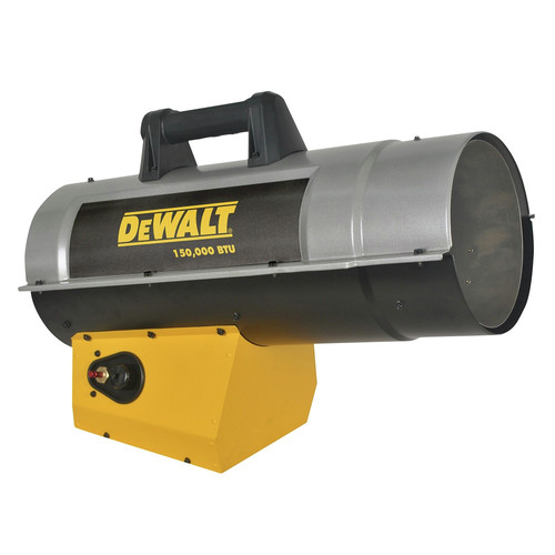 Dewalt DXH150FAV 110,000 - 150,000 BTU Forced Air Propane Heater