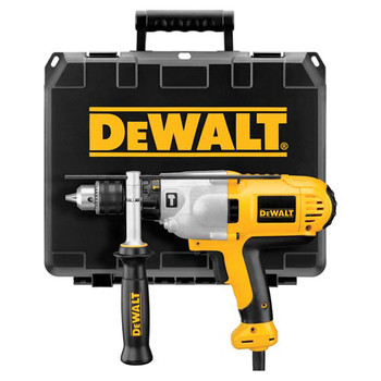 Dewalt DWD525K 10 Amp Variable Speed 1/2 in. Corded Hammer Drill Kit with Mid-Handle image number 0
