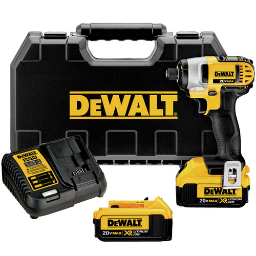 Dewalt DCF885M2 20V MAX XR Cordless Lithium-Ion 1/4 in. Impact Driver Kit