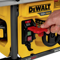 Dewalt DCS7485T1 60V MAX FlexVolt Cordless Lithium-Ion 8-1/4 in. Table Saw Kit with Battery image number 16