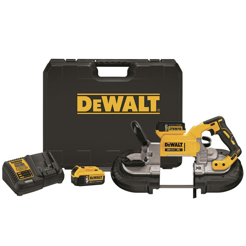 Factory Reconditioned Dewalt DCS374P2R 20V MAX XR Brushless Lithium-Ion 5 in. Cordless Deep Cut Band Saw Kit (5 Ah) image number 0