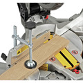 Dewalt DWS713 15 Amp 10 in. Single Bevel Compound Miter Saw image number 9