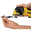 Factory Reconditioned Dewalt DWE315K 3 Amp Oscillating Tool Kit with 29 Accessories image number 3