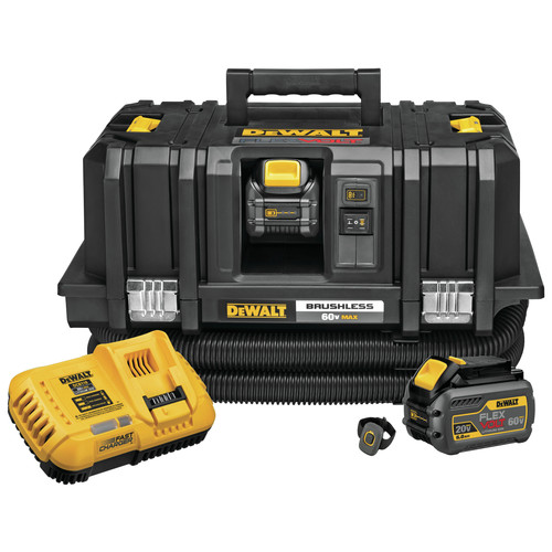 Dewalt DCV585T2 FlexVolt 60V MAX Dust Extractor Kit image number 0