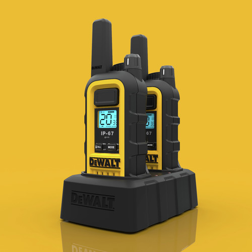 Dewalt DXFRS300 1 Watt Heavy Duty Walkie Talkies (Pair) image number 9