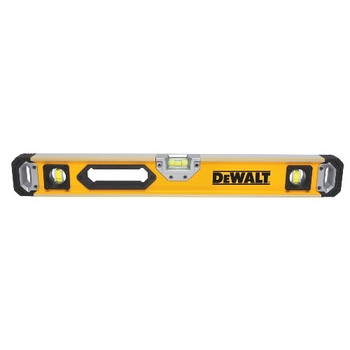 Dewalt DWHT43224 24 in. Non-Magnetic Box Beam Level