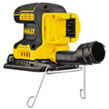 Dewalt DCW200B 20V MAX XR Brushless Lithium-Ion 1/4 Sheet Cordless Variable Speed Sander (Tool Only) image number 2