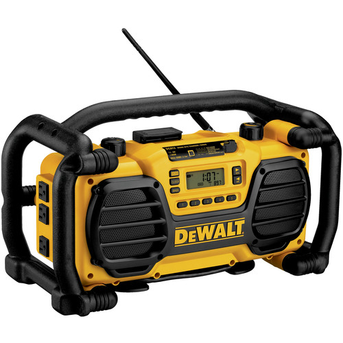 Dewalt DC012 7.2 - 18V XRP Cordless Worksite Radio and Charger (Bare Tool)