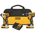 Dewalt DCK283D2 20V MAX XR 2.0 Ah Cordless Lithium-Ion Brushless Drill Driver & Impact Driver Combo Kit image number 0