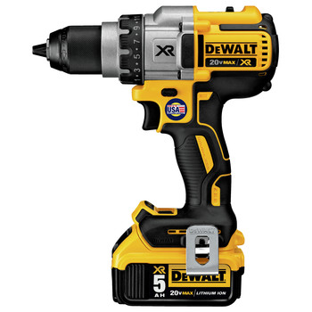 Dewalt DCD991P2 20V MAX XR Lithium-Ion Brushless 3-Speed 1/2 in. Cordless Drill Driver Kit (5 Ah) image number 1