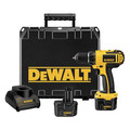 Factory Reconditioned Dewalt DC742KAR 12V Cordless 3/8 in. Compact Drill Driver Kit image number 1