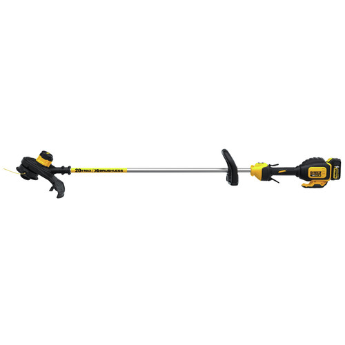 Dewalt DCST920P1 20V MAX 5.0 Ah Li-Ion Brushless String Trimmer image number 1
