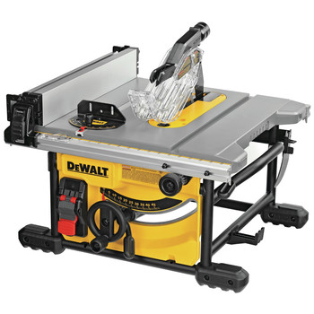 Dewalt DWE7485WS 15 Amp Compact 8-1/4 in. Jobsite Table Saw with Stand