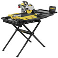Dewalt D36000S 15 Amp 10 in. High Capacity Wet Tile Saw with Stand image number 0