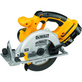 Dewalt DC390-2 18V XRP Cordless 6-1/2 in. Circular Saw with 2 Batteries image number 3