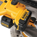 Factory Reconditioned Dewalt DCS361M1R 20V MAX Cordless Lithium-Ion 7-1/4 in. Sliding Compound Miter Saw Kit image number 3