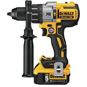 Factory Reconditioned Dewalt DCD996P2R 20V MAX XR Lithium-Ion Brushless 3-Speed 1/2 in. Cordless Drill Driver Kit (5 Ah) image number 1