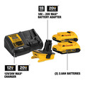 Dewalt DCA2203C 20V MAX Lithium-Ion Battery, Charger and Adapter Kit for 18V Cordless Tools (2 Ah) image number 1
