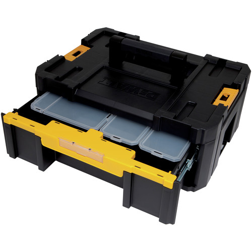 Dewalt DWST17803 TSTAK-3 1-Drawer Stackable Organizer image number 2