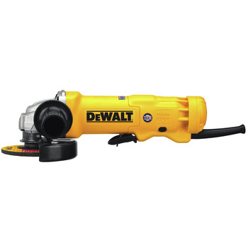 Dewalt DWE402W 11 Amp 4-1/2 in. Angle Grinder with Paddle Switch & Wheel image number 1
