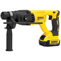 Factory Reconditioned Dewalt DCH133M2R 20V MAX XR Cordless Lithium-Ion 1 in. D-Handle SDS-Plus Rotary Hammer Kit image number 1