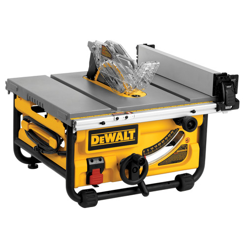 Superbe 15 Amp Site Pro Compact Jobsite Table Saw