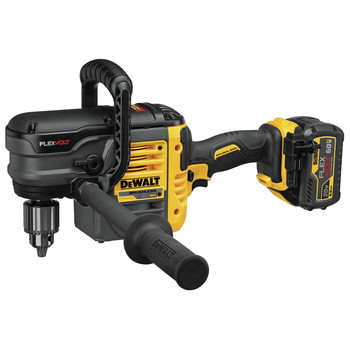 Dewalt DCD460T1 FlexVolt 60V MAX Lithium-Ion Variable Speed 1/2 in. Cordless Stud and Joist Drill Kit with (1) 6 Ah Battery image number 4