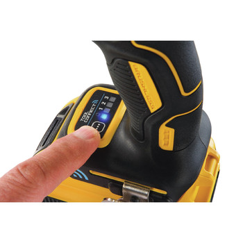 Dewalt DCF888D2 20V MAX XR 2.0 Ah Cordless Lithium-Ion Brushless Tool Connect 1/4 in. Impact Driver Kit image number 4