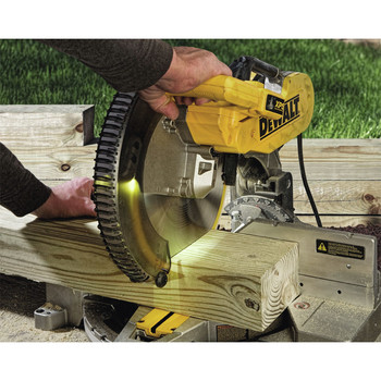 Dewalt DW716XPS 12 in.  Double Bevel Compound Miter Saw with XPS Light image number 1