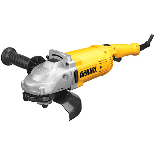 Factory Reconditioned Dewalt DWE4517R 7 in. 8,000 RPM 4 HP Angle Grinder with Trigger Lock-On