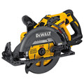 Factory Reconditioned Dewalt DCS577X1R FLEXVOLT 60V 9.0Ah MAX 7-1/4 in. Worm Drive Style Saw Kit image number 2