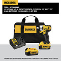 Dewalt DCF880HM2 20V MAX XR Cordless Lithium-Ion 1/2 in. Impact Wrench Kit with Hog Ring Anvil image number 1