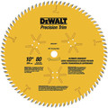 Dewalt DW3218PT 10 in. 80 Tooth Precision Trim Circular Saw Blade