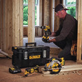 Factory Reconditioned Dewalt DCKTS381M2R 20V MAX 4Ah 3-Tool Kit with Tough SystemKit Box image number 1