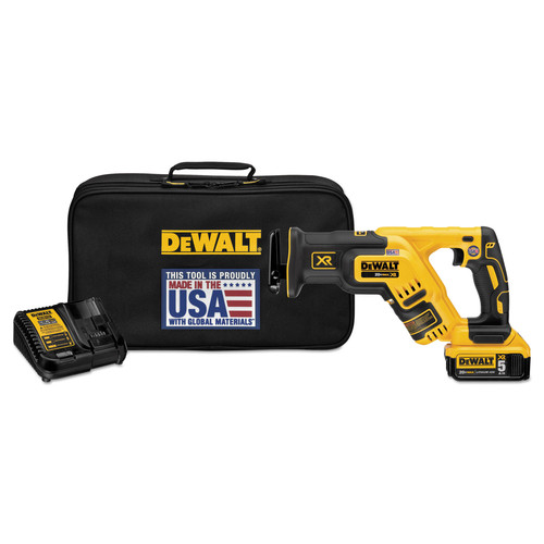 Dewalt DCS367P1 20V MAX XR 5.0 Ah Cordless Lithium-Ion Brushless Compact Reciprocating Saw