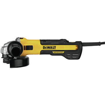 Dewalt DWE43240INOX 5 in. / 6 in. INOX Brushless Slide Switch Small Angle Grinder with Variable Speed image number 1