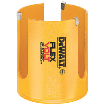 Dewalt DWAFV0218 FlexVolt 2-1/8 in. Carbide Wood Hole Saw