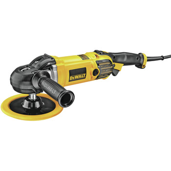 Dewalt DWP849X 7 in. / 9 in. Variable Speed Polisher with Soft Start