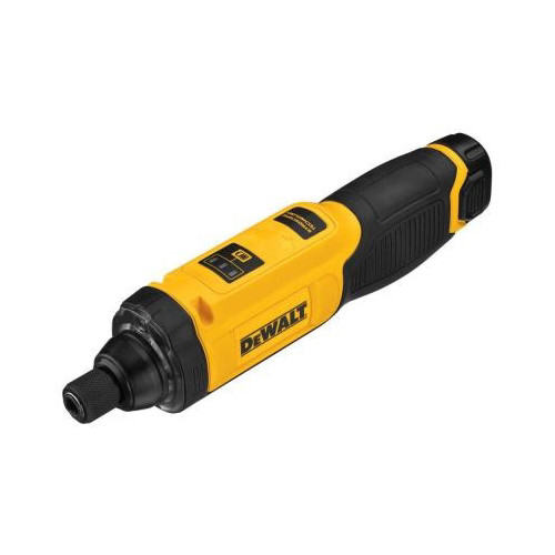 dewalt cordless grinder. dewalt dcf682n1 8v max cordless lithium-ion 1/4 in. gyroscopic inline screwdriver kit grinder