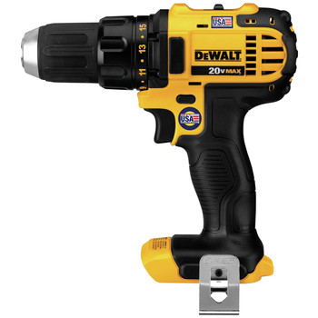 Dewalt DCD780B 20V MAX Lithium-Ion Compact 1/2 in. Cordless Drill Driver (Tool Only) image number 0