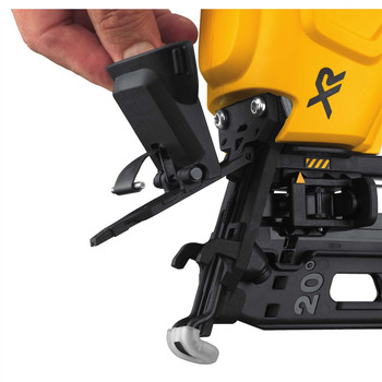 Factory Reconditioned Dewalt DCN660D1R 20V MAX 2.0 Ah Cordless Lithium-Ion 16 Gauge 2-1/2 in. 20 Degree Angled Finish Nailer Kit image number 6